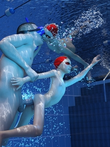 Rating: Explicit Score: 22 Tags: 1boy 2girls 3dcg anal ass bubble bubbles diving_mask flat_chest french_kiss goggles hand_on_another's_head hand_on_head hetero kiss multiple_girls nipples nude parted_lips penis photorealistic pool pussy sex snorkel swim_cap testicles tile_wall tiles tongue tongue_out uncensored underwater water ygalax User: Dalikidoo