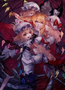Rating: Safe Score: 0 Tags: 5girls apron bangs black_hat blonde_hair bow braid closed_eyes fang flandre_scarlet hair_between_eyes hair_pull hat hat_bow highres kirisame_marisa lying mob_cap mochacot multiple_girls on_back open_mouth red_bow red_eyes red_skirt side_braid skirt skirt_set smile touhou_project vest waist_apron white_hat wings witch_hat yuri User: DMSchmidt