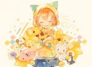 Rating: Safe Score: 0 Tags: 1girl ^_^ animal_hood cat_hood character_name closed_eyes dated fang happy_birthday holding_stuffed_animal hood hoodie hoshizora_rin love_live!_school_idol_project orange_hair pechika short_hair skirt smile solo star stuffed_animal stuffed_bunny stuffed_dog stuffed_duck stuffed_giraffe stuffed_pig stuffed_toy twitter_username User: ShizKoE2