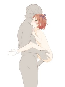 Rating: Explicit Score: 10 Tags: 1boy 1girl age_difference blush bow brown_hair eyebrows_visible_through_hair from_side hair_bow hetero kuroshiro_(kuroshiro00ff) open_mouth original penis sex socks standing white_legwear User: Domestic_Importer