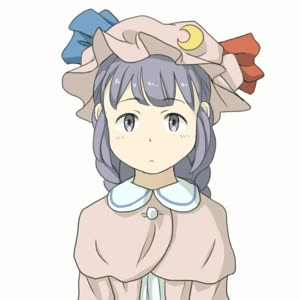 Rating: Safe Score: 0 Tags: 1girl alternate_hairstyle animated blinking blush blush_stickers bow braid chi-kun_(seedyoulater) closed_eyes crescent crescent_moon emofuri facing_viewer hat hat_bow hat_ornament head_tilt long_hair looking_at_viewer moon open_mouth patchouli_knowledge purple_eyes purple_hair ribbon simple_background solo team_shanghai_alice touhou_project twin_braids video webm white_background User: DMSchmidt