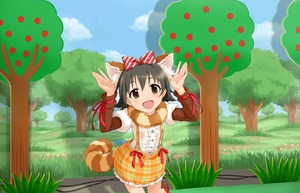Rating: Safe Score: 0 Tags: 1girl :d akagi_miria animal_ears annin_doufu artist_request black_hair blush bow brown_eyes cable hands_up highres idolmaster idolmaster_cinderella_girls idolmaster_cinderella_girls_starlight_stage looking_at_viewer official_art open_mouth raccoon_ears raccoon_tail ribbon shippo_mofumofu_(idolmaster) short_hair skirt smile solo suspender_skirt suspenders tail User: Domestic_Importer