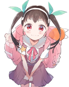 Rating: Safe Score: 1 Tags: 1girl :3 backpack bag black_hair blush gomi_chiri hachikuji_mayoi hairband long_hair monogatari_(series) red_eyes ribbon school_uniform skirt smile solo stuffed_toy twin_tails User: DMSchmidt