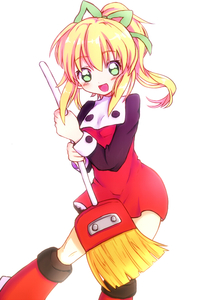 Rating: Safe Score: 2 Tags: 1girl :d blonde_hair blush boots broom buttons capcom frills hair_ribbon long_hair long_sleeves open_mouth ponytail puffy_long_sleeves puffy_sleeves ribbon rockman rockman_(classic) roll sidelocks smile solo tproject09 User: DMSchmidt
