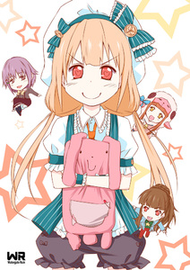 Rating: Safe Score: 0 Tags: ) /\/\/\ 10s 4girls :d >:) >:d animal_costume animal_ears black_legwear blonde_hair blush brown_eyes brown_hair chibi chibi_inset cover futaba_anzu hair_ornament hairclip hat heart heart-shaped_pupils hug ichihara_nina idolmaster idolmaster_cinderella_girls kamiy kamiya_nao koshimizu_sachiko long_hair looking_at_viewer mitsuharu_iseki multiple_girls necktie open_mouth purple_hair red_eyes sheep_costume short_hair skirt smile stuffed_animal stuffed_bunny stuffed_toy symbol-shaped_pupils thighhighs User: DMSchmidt