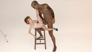 Rating: Explicit Score: 11 Tags: 1boy 1girl 3dcg age_difference barefoot camera chair flat_chest freckles guided_penetration imminent_penetration interracial killer-x kylee_(killer-x) looking_at_partner looking_up nail_polish necklace old_man penis photorealistic pubic_hair pussy red_hair shoes smile snarkmaster socks studio tattoo testicles User: fantasy-lover