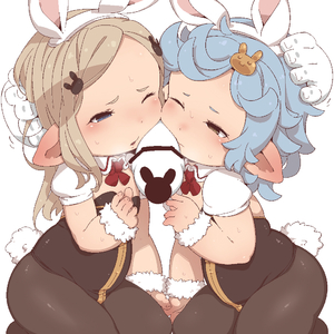 Rating: Explicit Score: 6 Tags: 2girls :o animal_ears black_legwear blue_eyes blue_hair brown_eyes bunny_ears bunny_hair_ornament bunnysuit fake_animal_ears flat_chest granblue_fantasy hair_ornament light_brown_hair long_hair louise-louis-lucille milleore multiple_girls one_eye_closed open_mouth pantyhose penis penis_on_face puffy_short_sleeves puffy_sleeves sahli_lao short_hair short_sleeves User: DMSchmidt