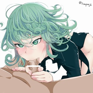 Rating: Explicit Score: 6 Tags: 1boy 1girl black_dress blurry blush breasts clothed_female_nude_male curly_hair depth_of_field dress fellatio green_eyes green_hair himegami nopan nude one-punch_man oral penis saliva short_hair solo_focus tatsumaki User: DMSchmidt
