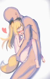 Rating: Explicit Score: 6 Tags: 1boy 1girl animal_ears animated ass_grab bangs blonde_hair blush cum cum_in_pussy eyebrows_visible_through_hair fox_ears fox_tail fukutchi heart hetero lifting_person long_hair nude original pussy_juice sex standing_sex suspended_congress tail vaginal video webm User: DMSchmidt