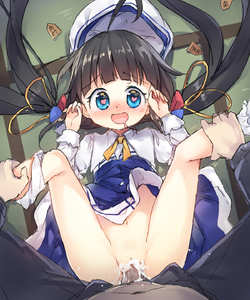 Rating: Explicit Score: 6 Tags: 1boy 1girl blue_dress blush bow cum cum_in_pussy dress dress_lift eyebrows_visible_through_hair flat_chest hair_ribbon happy happy_sex hat heart heart-shaped_pupils hetero highres hinatsuru_ai leg_grab leg_up legs_up long_hair long_sleeves lying missionary navel nose_blush on_back open_mouth pantsu pantsu_around_one_leg penis pov pov_eye_contact pussy ribbon ryuuou_no_oshigoto! saliva school_uniform sex shougi solo_focus spread_legs symbol-shaped_pupils tatami underwear vaginal very_long_hair white_hat white_pantsu wind7626 User: Domestic_Importer