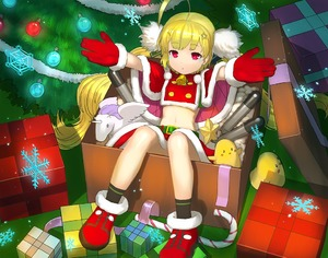 Rating: Safe Score: 0 Tags: 1girl :o ahoge azur_lane bangs belt_buckle bird black_legwear blonde_hair box buckle candy candy_cane chick christmas christmas_ornaments christmas_tree eldridge_(azur_lane) eyebrows_visible_through_hair facial_mark food fur-trimmed_boots fur-trimmed_capelet fur-trimmed_skirt fur_trim gift gift_box gloves green_belt in_box in_container long_hair looking_at_viewer low_twintails outstretched_arm parted_lips purple_eyes red_capelet red_footwear red_skirt santa_costume santa_gloves skirt socks solo stuffed_animal stuffed_pegasus stuffed_toy stuffed_unicorn torpedo twin_tails very_long_hair wasabi60 User: DMSchmidt