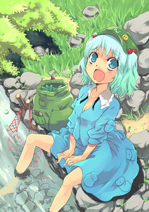 Rating: Safe Score: 0 Tags: 1girl badge bag barefoot blue_eyes blue_hair breasts bush cleavage cucumber face feet_in_water grass hair_bobbles hair_ornament hat kawashiro_nitori net open_mouth pocket rock shirt short_hair sitting skirt skirt_set sleeves_pushed_up smiley soaking_feet solo stick stream touhou_project twin_tails water wrench yuu_(kfc) User: DMSchmidt