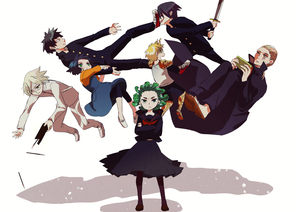 Rating: Safe Score: 0 Tags: 2girls 5boys black_hair black_sclera blonde_hair crossed_arms curly_hair cyborg floating fubuki_(one-punch_man) gakuran genos green_eyes green_hair katana king_(one-punch_man) leggings multiple_boys multiple_girls one-punch_man onsoku_no_sonic pantyhose pencil prosthesis prosthetic_arm psychic saitama_(one-punch_man) school_uniform senkou_no_flash serafuku siblings sisters sword tatsumaki teenage una_(mazinger) weapon yellow_eyes younger User: Domestic_Importer
