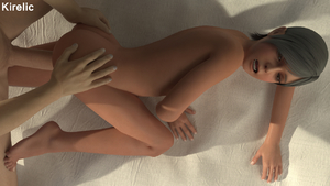 Rating: Explicit Score: 10 Tags: 1boy 1girl 3dcg black_hair flat_chest from_behind kirelic metal_gear_(series) metal_gear_solid_4 nude open_mouth penis photorealistic sex short_hair solo_focus sunny_emmerich sunny_gurlukovich vaginal User: cugomi