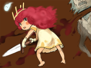 Rating: Safe Score: 0 Tags: 1girl barefoot blood blush_stickers brown_eyes child_of_light_(game) crown dress e10 freckles gloves igniculus long_hair looking_back monster open_mouth pink_hair princess_aurora sword weapon wisp User: DMSchmidt