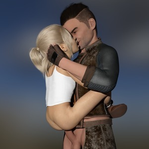 Rating: Explicit Score: 17 Tags: 1boy 1girl 3dcg age_difference ass blimp blonde_hair boots flat_chest gloves hand_on_another's_head held_up kiss long_hair open_mouth penis photorealistic ponytail sex shadow smile testicles User: fantasy-lover