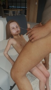 Rating: Explicit Score: 12 Tags: 1boy 1girl 3dcg age_difference barefoot brown_hair closed_eyes cum ejaculation facial flat_chest holding_penis kirkylol masturbation navel nipples nude penis photorealistic sitting standing User: fantasy-lover