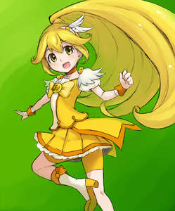 Rating: Safe Score: 0 Tags: 1girl blonde_hair boots bow chiwino choker cure_peace green_background hair_flaps kise_yayoi long_hair magical_girl open_mouth ponytail precure shorts shorts_under_skirt skirt smile smile_precure! solo spats tiara very_long_hair wrist_cuffs yellow_bow yellow_eyes yellow_shorts yellow_skirt User: DMSchmidt