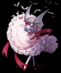 Rating: Safe Score: 0 Tags: 1girl animal ascot bat bat_wings black_background blue_hair full_body hat hat_ribbon high_heels highres marimo_tarou mob_cap pantyhose petticoat pink_hat pink_skirt puffy_short_sleeves puffy_sleeves red_eyes red_footwear red_neckwear red_ribbon remilia_scarlet ribbon ribbon-trimmed_skirt ribbon_trim sash shoes short_sleeves simple_background skirt smile solo standing touhou_project transparent_wings white_legwear wings wrist_cuffs User: DMSchmidt