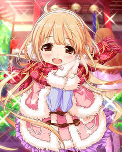 Rating: Safe Score: 0 Tags: 10s 2girls :d artist_request bandai_namco blonde_hair brown_eyes earmuffs futaba_anzu headshop idolmaster idolmaster_cinderella_girls light_brown_hair moroboshi_kirari multiple_girls official_art open_mouth pantyhose scarf smile temple winter_clothes User: DMSchmidt