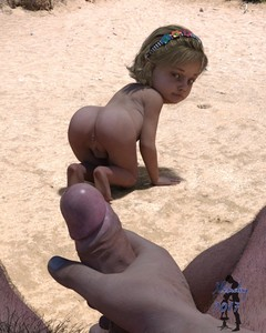 Rating: Explicit Score: 61 Tags: 1boy 1girl 2017 3dcg all_fours anus ass bad_anatomy barefoot blonde_hair dated hairband highres looking_back nude original penis penis_awe photorealistic pov_eye_contact pussy sand slimdog soles uncensored User: Domestic_Importer