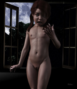 Rating: Questionable Score: 16 Tags: 1girl 3dcg body_hair claws flat_chest halloween monster_girl moon navel night nipples nude open_mouth photorealistic pose pubic_hair pussy shadow skeleton_(3d-artist) source_request standing transforming uncensored werewolf window User: Default_dance