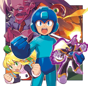 Rating: Safe Score: 0 Tags: 1girl 4boys albert_w_wily blonde_hair blue_eyes blues capcom facial_hair forte_(rockman) green_eyes helmet highres kin_niku multiple_boys mustache necktie plugman rockman rockman_(character) rockman_(classic) roll scarf smile white_hair User: DMSchmidt
