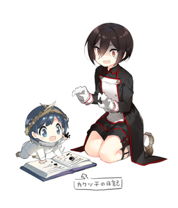 Rating: Safe Score: 2 Tags: 1boy 1girl :d all_fours baby bangs black_hair black_jacket black_shorts blue_eyes blue_hair book brown_eyes brown_footwear collarbone cousins gloves hair_between_eyes jacket kneehighs long_sleeves meleph_(xenoblade) military military_jacket military_uniform neferu_(xenoblade) open_book open_mouth saru seiza shoes short_hair short_shorts shorts simple_background sitting smile toddlercon translation_request turn_pale uniform white_background white_gloves white_legwear xenoblade xenoblade_2 younger User: Domestic_Importer