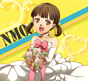 Rating: Safe Score: 0 Tags: 1girl :d brown_eyes brown_hair bullet-ogre choker collarbone doujima_nanako dress elbow_gloves eyebrows_visible_through_hair gloves hair_ribbon heart looking_at_viewer open_mouth persona persona_4 ribbon ribbon_choker short_hair short_twin_tails sleeveless sleeveless_dress smile solo standing strapless strapless_dress twin_tails wedding_dress white_dress white_gloves white_ribbon User: DMSchmidt