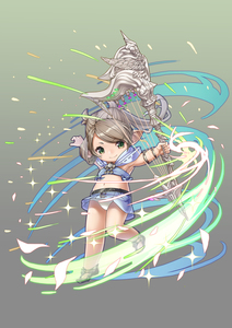 Rating: Safe Score: 1 Tags: 1girl absurdres armpits arms_up bandeau bracelet brown_hair final_fantasy final_fantasy_xiv green_eyes harp highres holding hood instrument jewellery lalafell long_hair magic midriff navel outstretched_arm pantsu pointy_ears shoes skirt smile solo standing standing_on_one_leg underwear white_pantsu wind wind_lift yakitori_(taikisyatoru) User: DMSchmidt