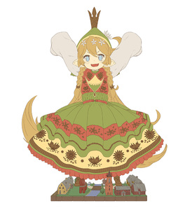 Rating: Safe Score: 0 Tags: >:3 1girl :3 :d >:3 >:d alternate_hairstyle arms_up blonde_hair blue_eyes blush boots braid bridge brown_boots bus charlotta_fenia crown dress floral_print flower full_body granblue_fantasy ground_vehicle hair_flower hair_ornament harvin hat head_tilt house long_hair looking_at_viewer miniature motor_vehicle o_(rakkasei) open_mouth plant pointy_ears road simple_background sleeves_past_wrists smile solo standing tower tree twin_braids very_long_hair water white_background User: DMSchmidt