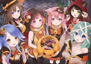 Rating: Safe Score: 2 Tags: 6+girls animal_ears aqua_hair arm_warmers azur_lane bandaged_head bandages bangs bare_shoulders basket bell biscuit black_choker black_hair black_hat black_legwear black_ribbon black_skirt black_vest blue_eyes blunt_bangs blush bow bowtie braid brown_eyes brown_hair candy cat_ears center_frills character_request chestnut_mouth choker claw_pose claws crescent crescent_hair_ornament crescent_moon_pin demon_horns demon_tail demon_wings dog_ears ears_through_headwear eyebrows_visible_through_hair fake_horns fang food food_themed_hair_ornament frilled_shirt_collar frilled_skirt frilled_sleeves frills fumizuki_(azur_lane) gradient_hair green_eyes hair_ornament hair_ribbon halloween halloween_costume hands_on_own_chest hat hat_bow holding hood hood_up horns jingle_bell kisaragi_(azur_lane) kneehighs long_hair long_sleeves looking_at_viewer mikazuki_(azur_lane) minazuki_(azur_lane) mouse_ears multicoloured_hair multiple_girls mutsuki_(azur_lane) neckerchief off_shoulder orange_bow orange_neckwear orange_skirt outdoors pantyhose pink_hair pov pumpkin_hair_ornament purple_eyes purple_hair ribbon ribbon-trimmed_legwear ribbon_trim sarashi screw shirt short_hair sidelocks single_braid skirt sleeveless sleeves_past_wrists smile standing stitches sumi_(kjtd2458) swept_bangs tail thick_eyebrows tongue tongue_out two_side_up upper_teeth v-shaped_eyebrows vest wavy_mouth white_shirt wings witch_hat wolf_ears x_hair_ornament yellow_bow User: DMSchmidt