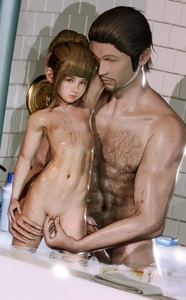 Rating: Explicit Score: 31 Tags: 1boy 1girl 3dcg age_difference bangs bath bathroom blunt_bangs brown_eyes brown_hair fingering flat_chest laura_b loli_anime_university_of_robotics_and_artificial_beautification looking_at_viewer navel nipples nude penis photorealistic pose pussy realistic shadow skoid standing water User: fantasy-lover