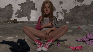Rating: Explicit Score: 23 Tags: 1girl 3dcg anus ass blonde_hair blue_eyes bottomless clitoris flat_chest killer-x long_hair looking_at_viewer nipple_tweak nopan panties_removed photorealistic presenting pussy shoes sitting skateboard sneakers solo spread_legs spread_pussy User: yobsolo