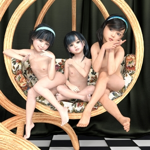 Rating: Explicit Score: 4 Tags: 3dcg 3girls any2000 black_hair brown_eyes copyright_request crossed_legs flat_chest grey_eyes hairband long_hair looking_at_viewer multiple_girls nipples nude photorealistic pussy short_hair sitting smile User: Software