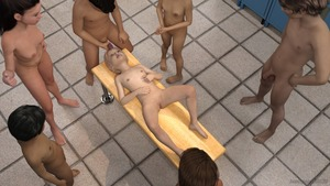 Rating: Explicit Score: 34 Tags: 3boys 3dcg 4girls age_difference anonymous53179 barefoot blonde_hair breasts brown_hair cum ejaculation facial flat_chest holding_penis locker locker_room long_hair lying masturbation multiple_boys multiple_girls navel nipples nude penis penis_on_face photorealistic pussy shadow small_breasts smile standing testicles User: fantasy-lover