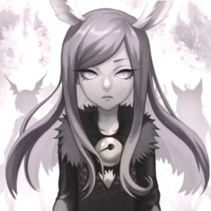 Rating: Safe Score: 1 Tags: ahoge animal_ears bangs bell bunny_ears elin expressionless eyelashes eyeliner flat_gaze fox_ears fur_collar fur_trim head_wings long_hair makeup monochrome multiple_girls nipuni parted_bangs short_hair silhouette solo_focus tera_online User: DMSchmidt