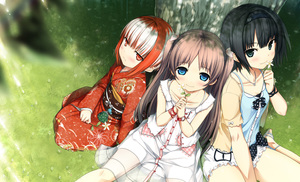 Rating: Safe Score: 2 Tags: 3girls :/ absurdres arishima_alice black_eyes black_hair blue_eyes blush breasts brown_hair casual closed_mouth cura dress enty_reward eyebrows_visible_through_hair flower girl_sandwich grass hairband highres holding holding_flower japanese_clothes kimono long_sleeves looking_at_viewer monobeno multicoloured_hair multiple_girls obi outdoors paid_reward red_eyes red_hair red_kimono ribbon sandwiched sash sawai_natsuha short_hair sidelocks sitting small_breasts smile sumi_(monobeno) tree twin_tails two-tone_hair two_side_up under_tree watch white_hair wristwatch User: Domestic_Importer