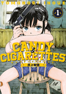 Rating: Safe Score: 0 Tags: 1girl artist_name bandaid bandaid_on_knee black_hair blue_eyes candy_&_cigarettes chair copyright_name cover cover_page covering_mouth gun hair_ornament hairclip handgun indoors inoue_tomonori looking_at_viewer m1911 official_art pistol side_ponytail sitting solo spread_legs suppressor suzukaze_miharu weapon window User: DMSchmidt