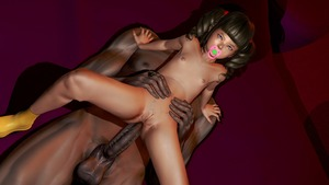 Rating: Explicit Score: 10 Tags: 1boy 1girl 3dcg age_difference anal bangs blue_eyes blunt_bangs brown_hair brown_skin dark_skinned_male dutch_angle flat_chest heatsink navel nipples pacifier penis pussy realistic socks testicles twin_tails User: fantasy-lover