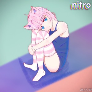 Rating: Safe Score: 2 Tags: 1girl absurdres ahoge animal_ear_fluff animal_ears artist_name blue_eyes cat_ears cat_girl dated highres looking_at_viewer nitro one-piece_swimsuit pink_hair school_swimsuit self_upload simple_background sitting smile solo swimsuit thighhighs User: Nitro