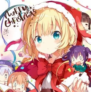 Rating: Safe Score: 0 Tags: 0_0 5girls :d alternate_costume aqua_eyes blonde_hair blush bow box capelet chibi christmas closed_mouth confetti dated fur-trimmed_capelet fur-trimmed_hat gift gift_box gochuumon_wa_usagi_desu_ka? hat hat_with_ears hoto_cocoa kafuu_chino kirima_sharo looking_at_viewer medium_hair merry_christmas multiple_girls myuton open_mouth red_bow red_capelet ribbon santa_costume santa_hat signature smile tedeza_rize ujimatsu_chiya upper_body User: DMSchmidt