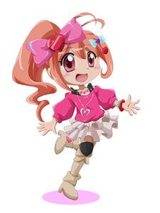 Rating: Safe Score: 0 Tags: 1girl brown_hair jewelpet jewelpet_kira_deco! oomiya_pink pink_eyes shishinon User: Domestic_Importer