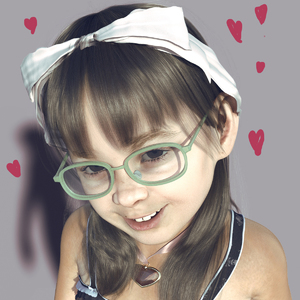 Rating: Safe Score: 8 Tags: 1girl 3dcg flat_chest glasses hair_ribbon hairband looking_at_viewer luano_danip necklace original photorealistic ribbon smile solo User: fantasy-lover