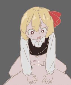 Rating: Explicit Score: 8 Tags: 1boy 1girl animated blonde_hair blush bottomless closed_eyes eyebrows_visible_through_hair gif grin hair_ribbon hetero long_sleeves navel penis pirate_seal pov_eye_contact pussy pussy_juice ribbon rumia sex sharp_teeth short_hair smile solo_focus teeth touhou_project uncensored vaginal User: Domestic_Importer