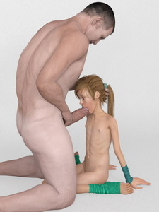 Rating: Explicit Score: 18 Tags: 1boy 1girl 3dcg age_difference arm_gloves blonde_hair fellatio flat_chest gradient gradient_background hand_on_another's_head kneeling large_penis nipples nude oral original penis photorealistic ponytail simple_background size_difference squatting tied_hair uncensored ygalax User: Software