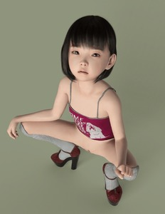 Rating: Explicit Score: 46 Tags: 1girl 3dcg animated bangs bare_arms bare_shoulders black_hair blunt_bangs bottomless closed_eyes closed_mouth flat_chest gif high_heels looking_at_viewer looking_up namihey7_(user_snyf2227) original over-kneehighs pee peeing photorealistic pussy short_hair simple_background solo spread_legs squatting tank_top uncensored User: Domestic_Importer