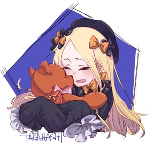 Rating: Safe Score: 1 Tags: 1girl abigail_williams_(fate/grand_order) artist_name black_bow black_dress black_headwear blonde_hair blue_background bow closed_eyes doll_hug dress fate/grand_order fate_(series) forehead frilled_sleeves frills hair_bow highres holding holding_stuffed_animal long_hair neko_(takanashi) open_mouth orange_bow sleeves_past_wrists smile solo stuffed_animal stuffed_toy tearing_up teddy_bear upper_body User: DMSchmidt