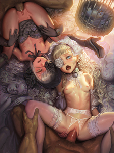 Rating: Explicit Score: 6 Tags: 2boys 2girls alphonse blonde_hair bow bow_panties breasts cage censored doll eyepatch flat_chest group_sex hair_bow hetero long_hair lying mosaic_censoring multiple_boys multiple_girls multiple_penises nipples on_back open_mouth original pantsu penis pov pussy saliva small_breasts spread_legs teeth thighhighs tongue underwear vaginal white_bow white_legwear User: Domestic_Importer