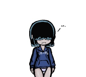 Rating: Questionable Score: 2 Tags: 1girl cameltoe drawfag frown hair_over_eyes hoodie lowres lucy_loud nevada-tan pantsu shiny shiny_skin short_hair solo the_loud_house underwear User: DMSchmidt